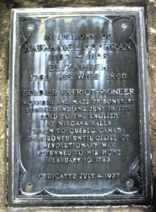 Cochran Memorial Inscription