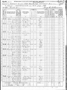 1870 Census David Williams
