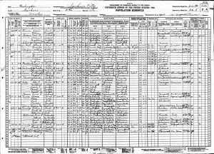 1930 United States Federal Census Dell Jr
