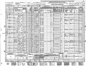 1940 United States Federal Census Dell Jr
