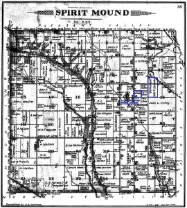 John P Williams Land, Spirit Mound, SD 1901 00001